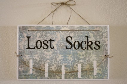 Lost sock board