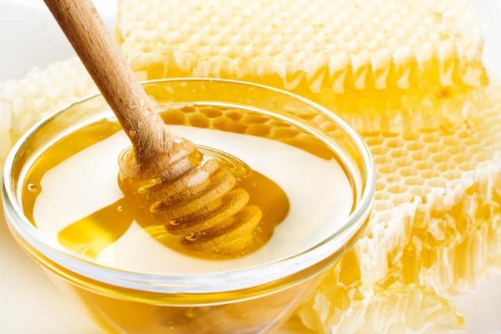pollen in honey