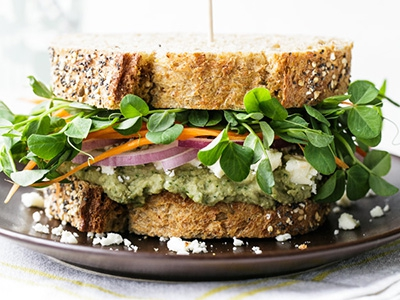 13 best vegetarian sandwiches that are reasonably easy to pack for work