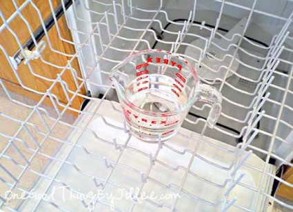 3. How to: Clean the dishwasher
