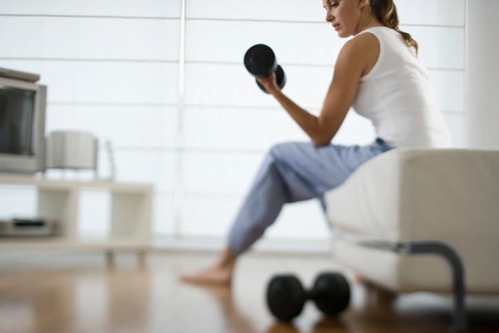 apartment-friendly workout gear