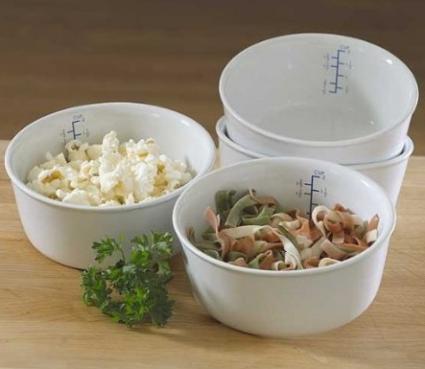 Microwaveable Ceramic Portion Control Bowls