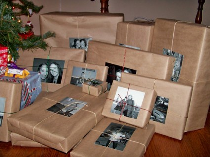 Use photos instead of gift labels
