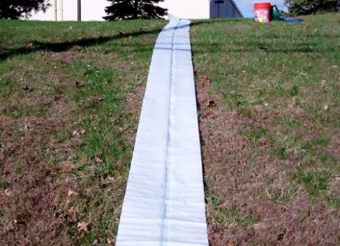 homemade slip n slide