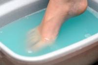 listerine foot bath