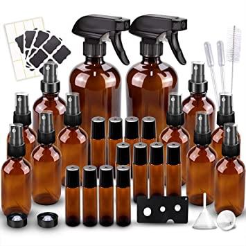 BonyTek Glass Spray Bottles Set