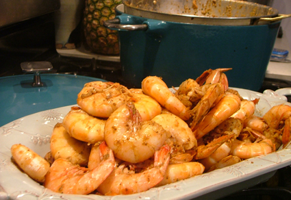 Love Feast Table's shrimp with Old Bay