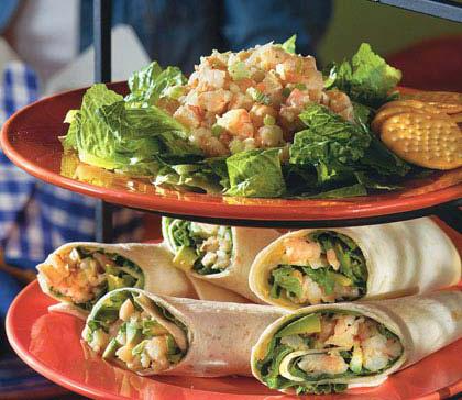 Southern Living's Old Bay shrimp salad