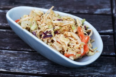 Coconut & Lime's Baltimore cole slaw