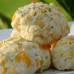 All Recipes' cheddar bay biscuits