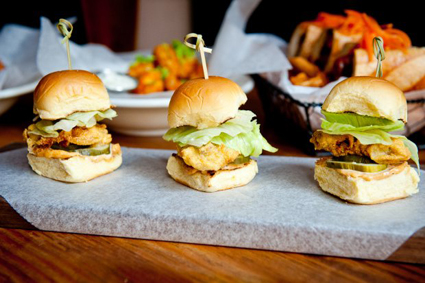 Food Republic's oyster sliders