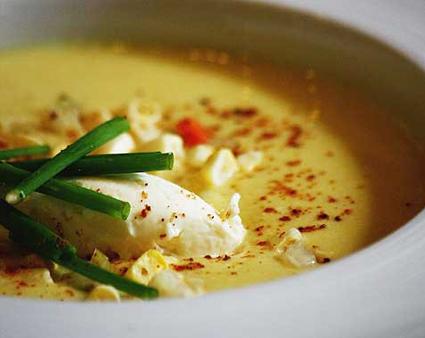 iVillage's summer sweet corn soup