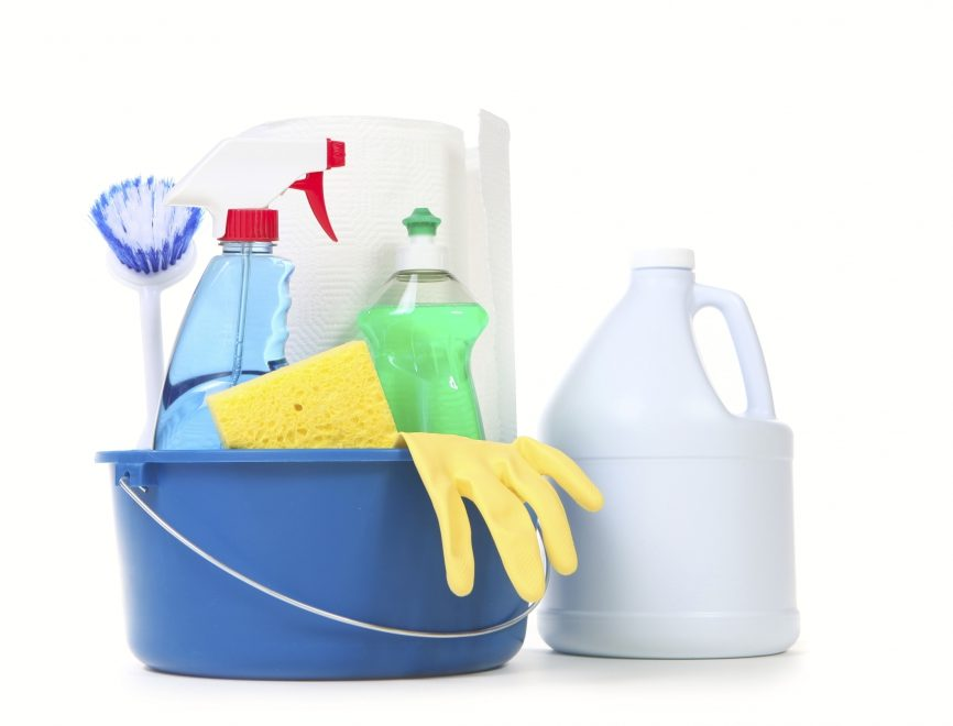 Could cleaning your house with bleach make you sick?