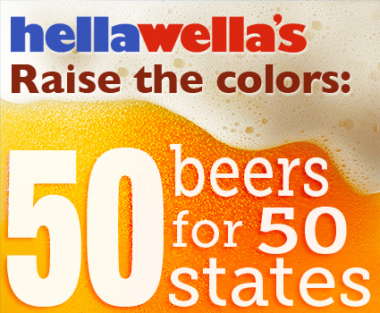 Raise the colors: 50 beers for 50 states